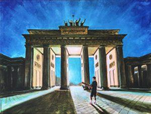Otto Waalkes One morning in Berlin 300x226 - Leinwandbilder mit Charme - Otto 's unverwechselbarer Stil
