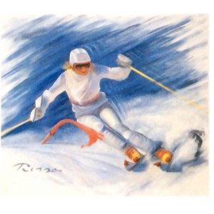 Skifahrerinca.61x551988 300x300 - Klaus Risse- NEU im Kunsthandel Koenen ART NETWORK