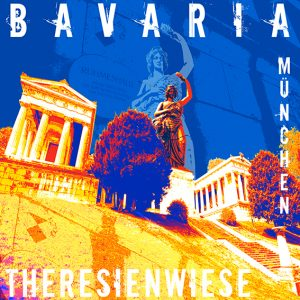 Bavaria Theresienwiese Frit Art M 02 300x300 - München, Oktober?Münchener Oktoberfest- bei ART NETWORK zünftig und bunt