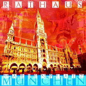 Marienplatzt Rathaus  Frit Art M 11 300x300 - München, Oktober?Münchener Oktoberfest- bei ART NETWORK zünftig und bunt