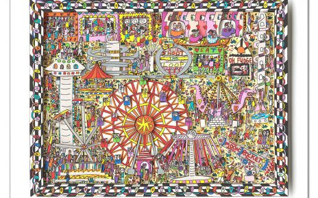 2015 RIZZI10217 Fly me to the moon 464x290 - Mit James Rizzi Im Karussell über den Horizont fliegen