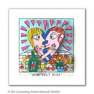 RIZZI10305 James Rizzi Heartfelt kiss 300x300 - Neues von James Rizzi