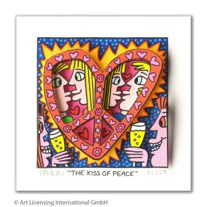 RIZZI10306 james rizzi the kiss of peace kunsthandel koenen art network 300x300 - Neues von James Rizzi