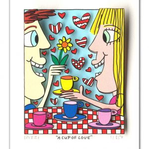 RIZZI10307 James Rizzi a cup of love 300x300 - Neues von James Rizzi