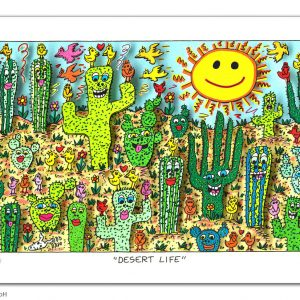 RIZZI10310 James Rizzi desert life kunsthandel koenen art network 2019 300x300 - Neues von James Rizzi