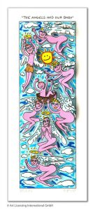 RIZZI10313 James Rizzi the angels and our baby kunsthandel koenen art network 2019 136x300 - Neues von James Rizzi