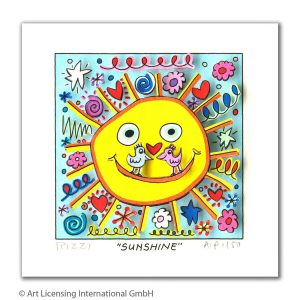 RIZZI10316 James Rizzi Sunshine kunsthandel koenen art network 2019 300x300 - Neues von James Rizzi