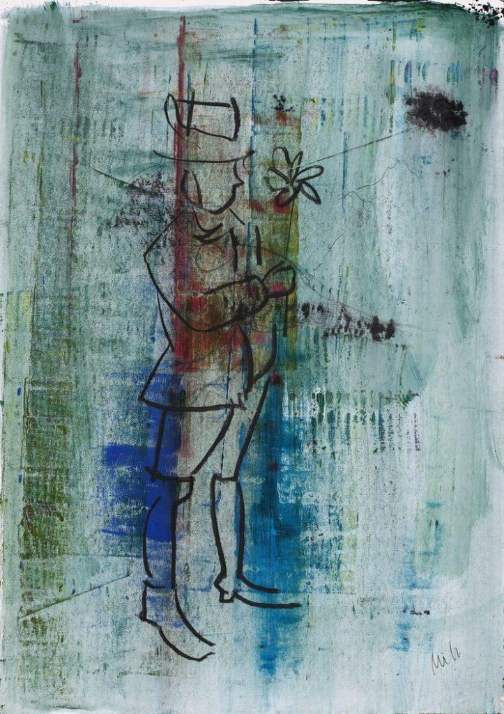 Der starke Mann begann zu wanken undatiert Hatje Cantz   Seite 188 723x1024 - Das besondere Kunstwerk: Armin Mueller-Stahl - Der starke Mann begann zu wanken