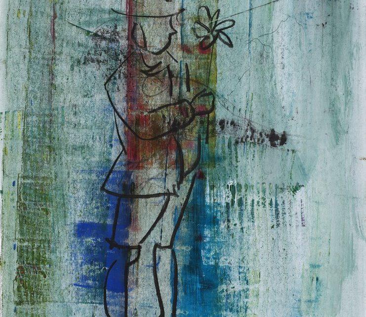 Der starke Mann begann zu wanken undatiert Hatje Cantz   Seite 188 741x642 - Das besondere Kunstwerk: Armin Mueller-Stahl - Der starke Mann begann zu wanken