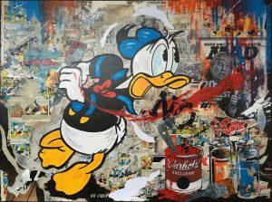 Claus Schenk No Donald Duck Kunsthandel Koenen 2020 300x223 - Donald im Fokus - neues von Claus Schenk