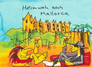 Udo Lindenberg Heimweh nach Mallorca  Kunsthandel Koenen 2020 300x219 - Neues vonUdo Lindenberg