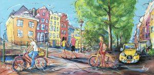 2020.04. Summer in the city 300x146 - Corona und Urlaub - mit diesen Werken holen Sie sich die Urlaubsstimmung nach Hause!