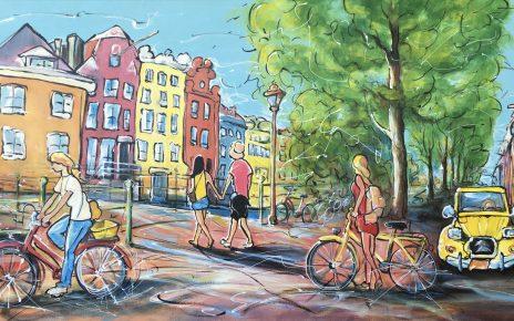 2020.04. Summer in the city 464x290 - Corona und Urlaub - mit diesen Werken holen Sie sich die Urlaubsstimmung nach Hause!