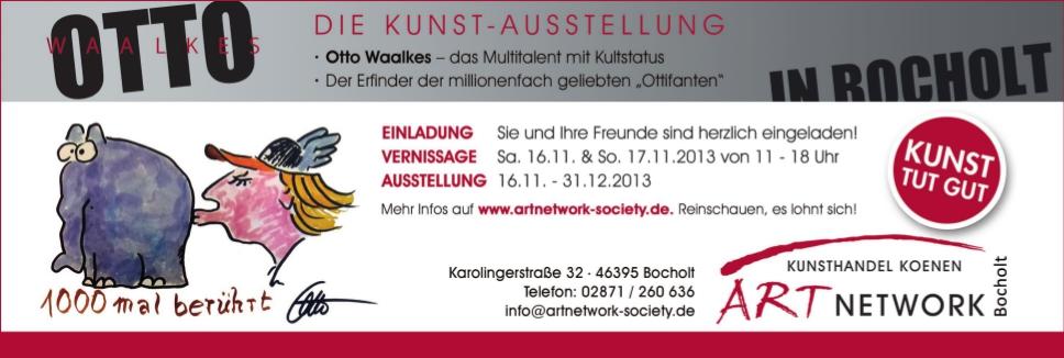 Anzeige Kunsthandel Koenen Rheder Stadtgespraech - Otto Waalkes