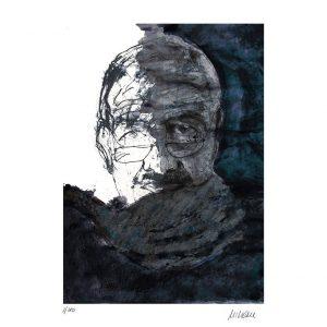 Armin Mueller Stahl Selbst mit Schal Kunsthandel Koenen Bocholt 300x300 - Neues von Armin Mueller-Stahl