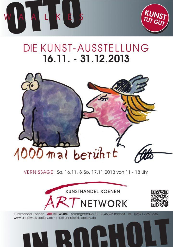 Ausstellung. Otto Waalkes Poster 720x1024 - Otto Waalkes