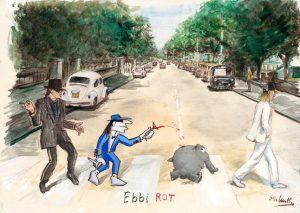 Otto Waalkes   Ebbi Rot Udo 50 x 70 cm 300x213 - Otto Waalkes
