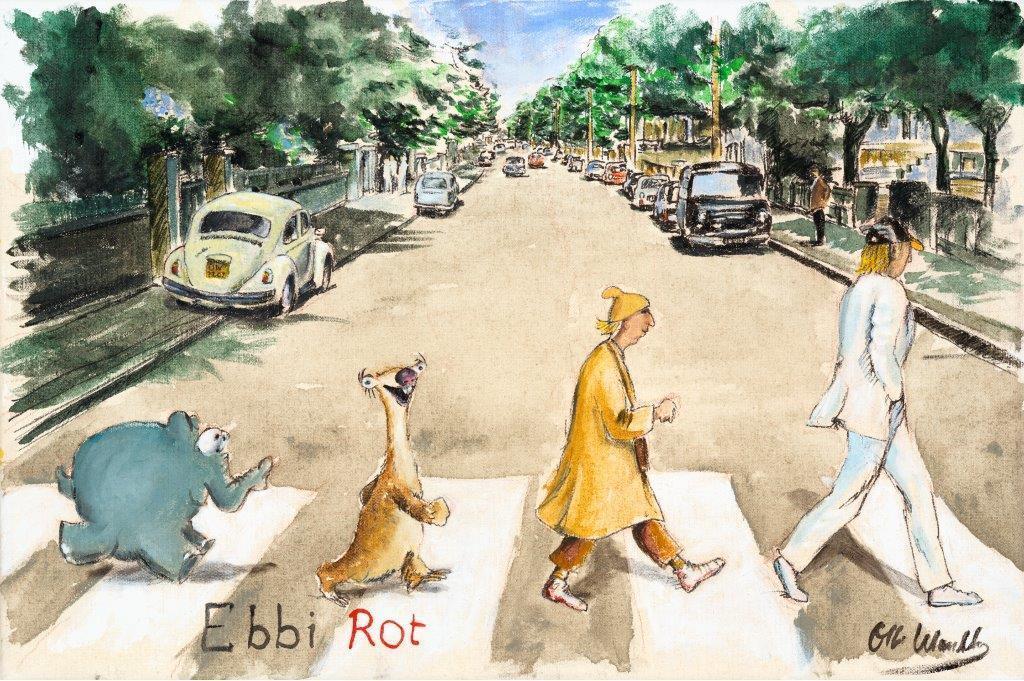 Otto Waalkes   Ebbi Rot Abbey Road 1 - Otto Waalkes