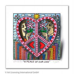 RIZZI10295 James Rizzi A Peace of our love 297x300 - Muttertag 2020 - aber bitte mit Herz & vielleicht mit Kunst