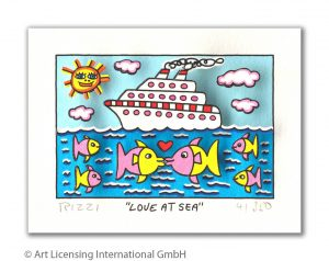 RIZZI10303 James Rizzi love at sea kunsthandel koenen art network 300x238 - Corona und Urlaub - mit diesen Werken holen Sie sich die Urlaubsstimmung nach Hause!