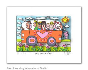 Rizzi10256   James Rizzi   The love Van 300x240 - James Rizzi