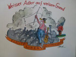 Weisser Adler auf weissem Grund 300x225 - Otto Waalkes