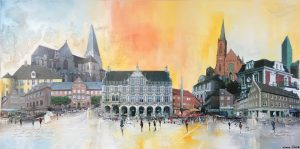 Claus Schenk   Bocholt roetlich   50 x 100 300x149 - Claus Schenk - Düsseldorf, Brüssel, Bocholt oder Ihre Stadt