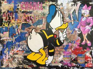 Claus Schenk Donald Daisy  Chanel Kunsthandel Koenen 2020 300x223 - Bilder und Kunst - Art goes home - und bleibt!