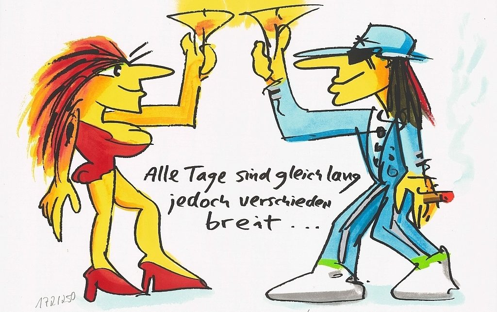Udo Lindenberg - Alle Tage sind gleich lang jedoch verschieden breit