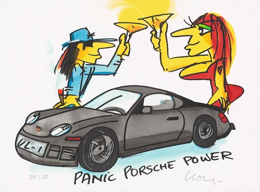 Udo Lindenberg Panic Porsche Power Kunsthandel Koenen Bocholt 2020 - Udo Lindenberg - coole neue Werke