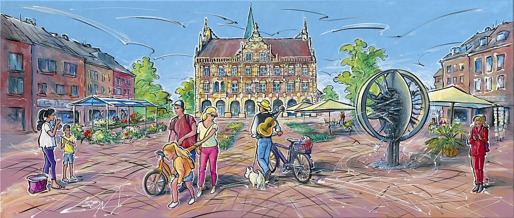 Leon Marktzeit Kunsthandel Koenen Bocholt 2020 - Bocholt - erleben Sie den Kunsthandel Koenen ART NETWORK live und vor Ort!