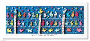 RIZZI10149 Love Birds in the night Kunsthandel Koenen Bocholt 300x137 - Vom weitem Meer in den ART NETWORK Shop - Die AIDA-Werke vonJames Rizzi