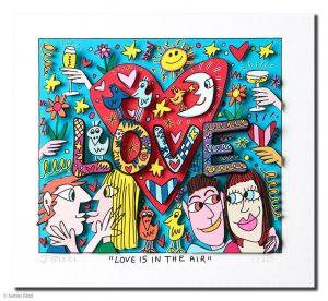 RIZZI10151 Love is in the air Kunsthandel Koenen Bocholt 300x276 - Vom weitem Meer in den ART NETWORK Shop - Die AIDA-Werke vonJames Rizzi