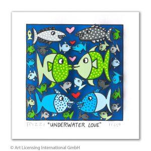 RIZZI10297 Underwater Love 300x300 - Vom weitem Meer in den ART NETWORK Shop - Die AIDA-Werke vonJames Rizzi
