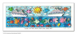 RIZZI10311 Rizzi 2019 01 000 LoveInTheSeaForYouAndMe 70 210 300x134 - Vom weitem Meer in den ART NETWORK Shop - Die AIDA-Werke vonJames Rizzi