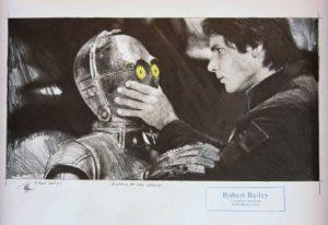 Robert Bailey Silence Of the Droid 300x206 - Neu im ART NETWORK SHOP -Robert Bailey