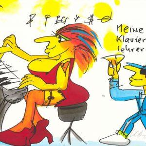 """Udo Lindenberg Meine Klavierlehrerin Kunsthandel Koenen Bocholt 2020 300x300 - Udos """"panische Konsequenz in der Corona Krise"""""""