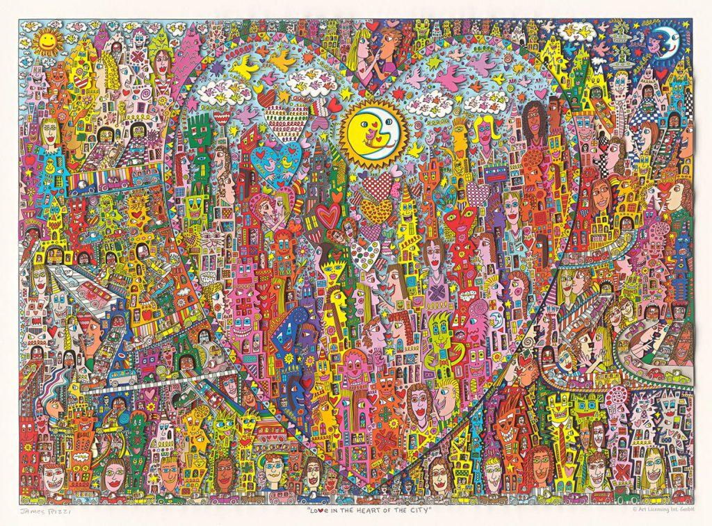 Udo Lindenberg No Panic Andrea Doria  Kunsthandel Koenen 2020 1024x757 - James Rizzi- der unsterblich geniale Pop-Artist