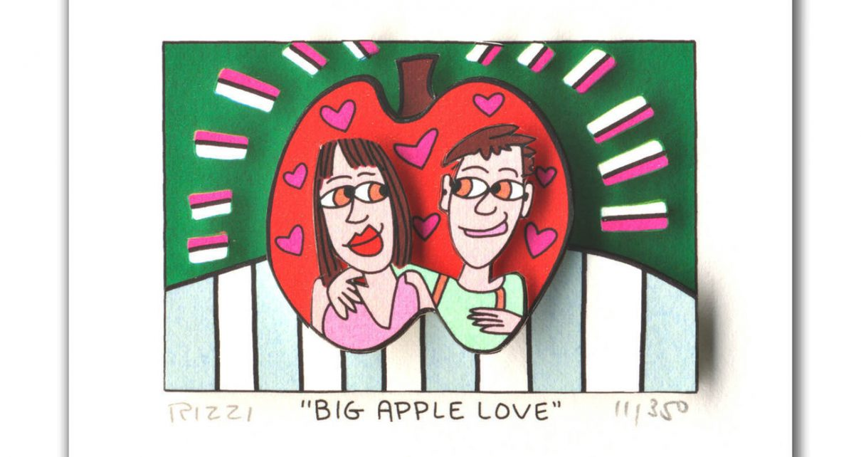 James Rizzi - BIG APPLE LOVE