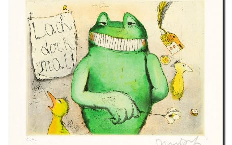 Janosch - Lach doch mal Frosch + Haus