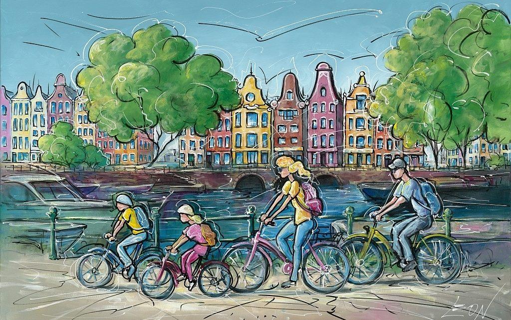 LEON - Fahrradtour
