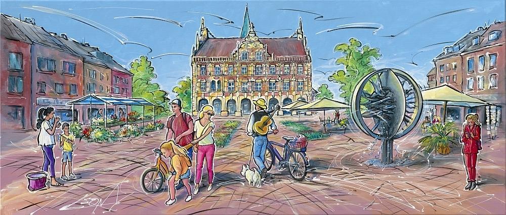 Leon Marktzeit in Bocholt Kunsthandel Koenen Bocholt 2020 - Termin-Shopping im Kunsthandel Koenen ART NETWORK - Einkaufen einmal anders!