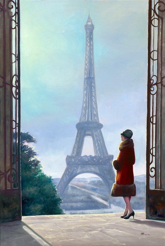 Klaus Risse Paris La tour Eiffel Kunsthandel Koenen Bocholt 686x1024 - NEUES von Klaus Risse
