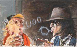 Otto Waalkes Lord of se rings Kunsthandel Koenen Bocholt 2021 300x185 - Neues von Otto Waalkes