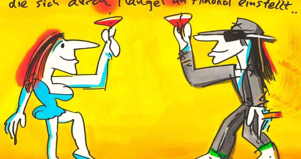 Udo Lindenberg - Realität ist nur eine Illusion, die sich durch Mangel an Alkohol einstellt ...