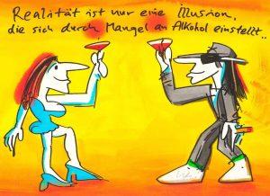 Udo Lindenberg Realitaet ist nur eine Illusion die sich durch Mangel an Alkohol einstellt Kunsthandel Koenen 2021 300x218 - Neues von Udo Lindenberg