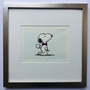 Charles M Schulz A Nice Cuppa gerahmt Kunsthandel Koenen Bocholt 2021 300x300 - Die Peanuts kommen - mit Charles M. Schulz in unserem Shop