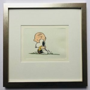 Charles M Schulz Best Friends gerahmt Kunsthandel Koenen Bocholt 2021 300x300 - Die Peanuts kommen - mit Charles M. Schulz in unserem Shop