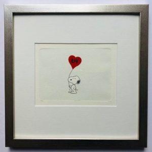 Charles M Schulz Higher LUV gerahmt Kunsthandel Koenen Bocholt 2021 300x300 - Die Peanuts kommen - mit Charles M. Schulz in unserem Shop