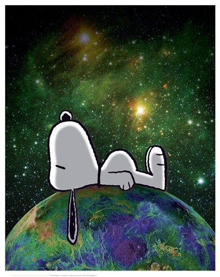 Charles M. Schulz - PEANUTS - On Top of the World